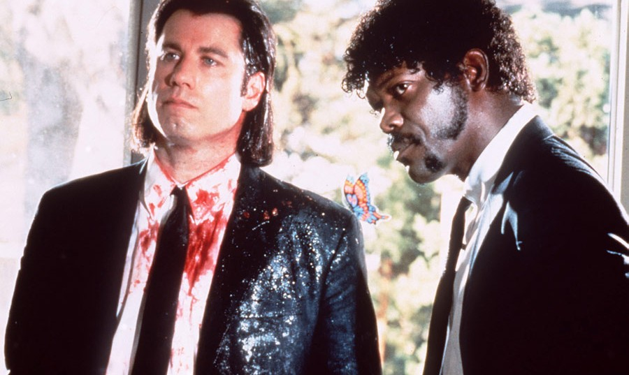 Pulp Fiction, John Travolta - Vincent Vega, Samuel L. Jackson - Jules Winnfield