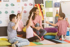 lekcje języka z udziałem dzieci